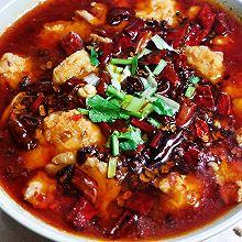 锦娘制——水煮虾滑肉片
