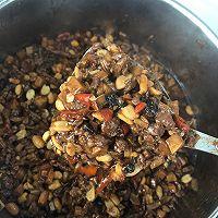 杏鲍菇豆豉牛肉酱的做法图解4