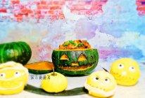 酱香排骨南瓜盅的做法