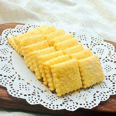 黄油曲奇椰子饼