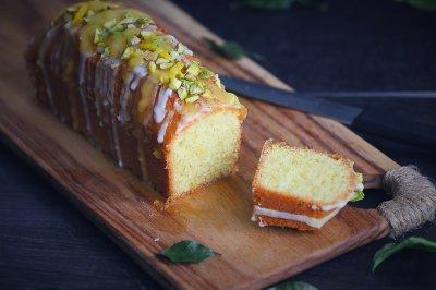 松软湿润的--柠檬磅蛋糕