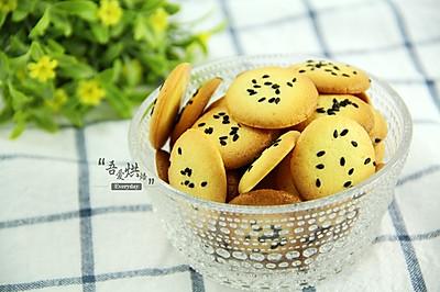 嘎吱嘎吱响&黑芝麻薄脆饼