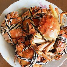 蒸大闸蟹和炒大闸蟹