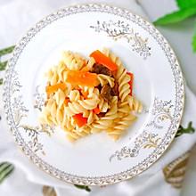 20M+杂蔬炒意面:宝宝辅食营养食谱菜谱