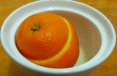 盐蒸橙子-哺乳期/孕期感冒咳嗽的纯天然配方