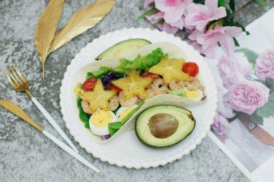创意菜–水果墨西哥Taco