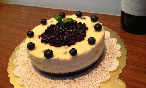 蓝莓芝士蛋糕的做法
