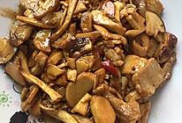 鲜松茸炒肉的做法