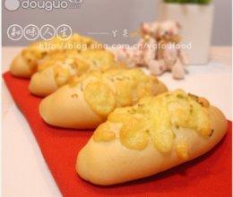 芝士葱蓉面包的做法