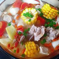 山药玉米排骨汤的做法图解9