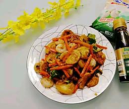 #福气年夜菜#鲜上加鲜的日本豆腐的做法