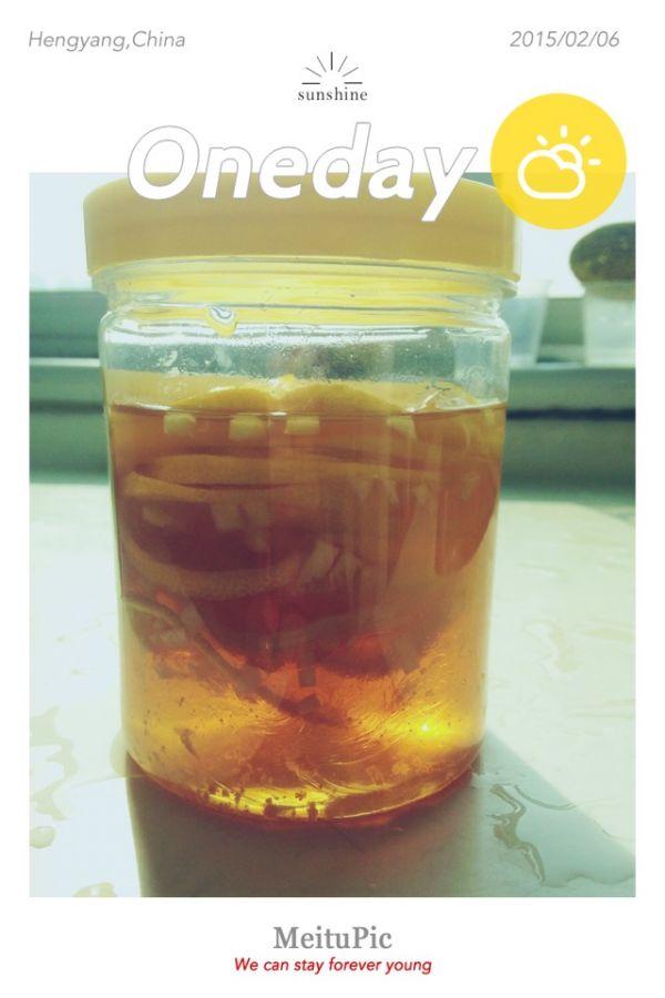 蜜渍柠檬(∩ᵒ̴̶̷̤⌔ᵒ̴̶̷̤∩)的做法