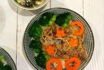 日式金针菇肥牛饭的做法