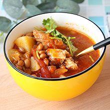 牛腩土豆西红柿汤