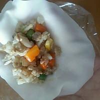 李孃孃爱厨房之一一糯米烧麦(饺子皮版)的做法图解12