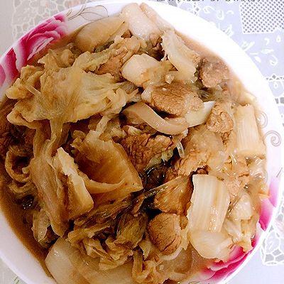 酸菜猪肉炖粉条+