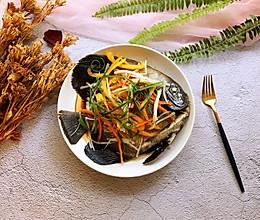 #肉食者联盟#清蒸包公鱼的做法