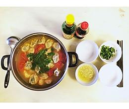 番茄浓汤臭臭饺的做法