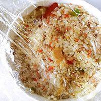 #秋天怎么吃#虾仁时蔬炒饭的做法图解7