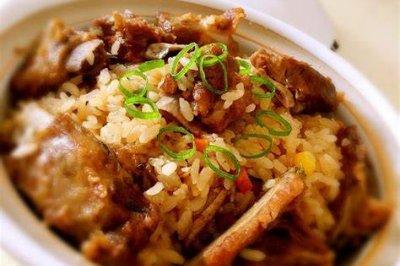 胃口大开|鲜香十足的排骨糯米饭