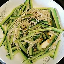 蔬菜(金针菇拌黄瓜)