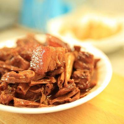超下饭-笋干红烧肉