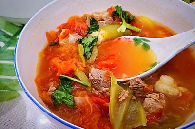 牛肉柿子汤(罗宋汤)
