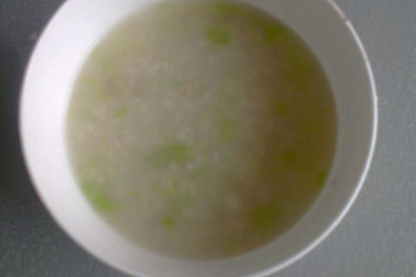 蔬菜瘦肉粥的做法