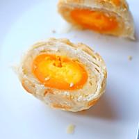 白莲蓉蛋黄酥的做法图解28