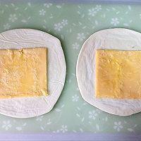 快手早餐-火腿芝士酥皮卷的做法图解1