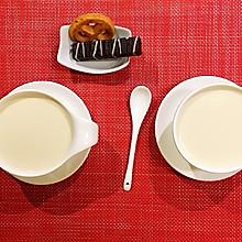 原味奶茶+甜酒奶茶