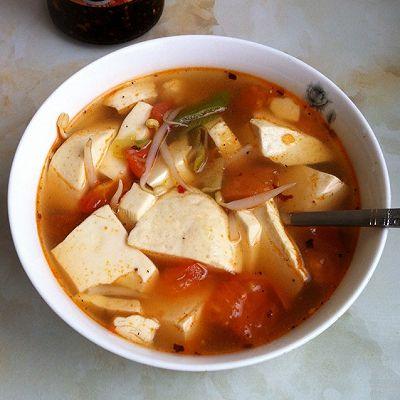 番茄豆腐汤(经典汤品)