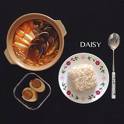 【减脂增肌】蛤蜊辣汤炖蔬菜