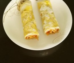 鸡蛋煎饼的做法