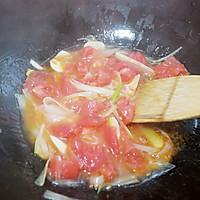 #鲜动生活越南龙利鱼柳试吃#番茄鱼片汤的做法图解9