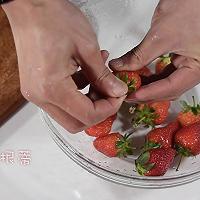 粥日食丨草莓糙米粥(做宝宝第一次营养粥)的做法图解2