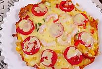 鸡蛋吐司披萨的做法
