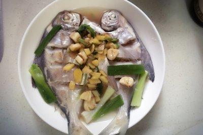 清蒸白仓鱼