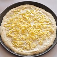 COUSS特约食谱——金枪鱼培根披萨的做法图解6