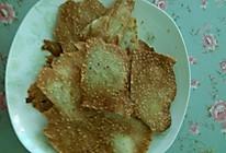 蛋清芝麻脆饼的做法