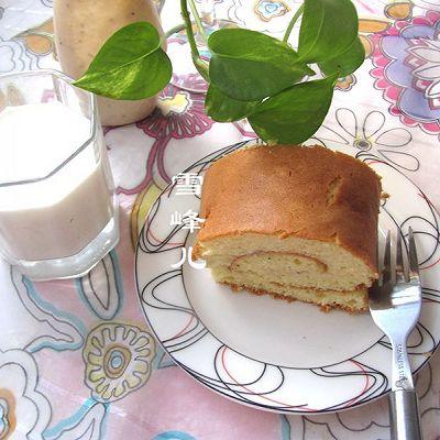 金枪鱼海绵蛋糕卷