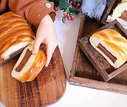 可可蛋糕夹心面包❗一口感受两种甜蜜的做法