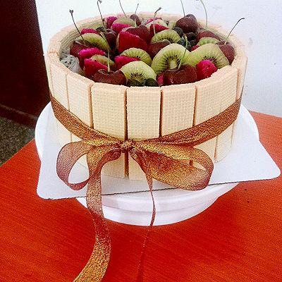 生日蛋糕,抹不平奶油的亲们,也可以做出高大上的蛋糕哦,