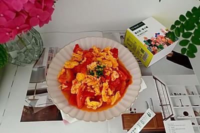 甜蜜番茄炒蛋