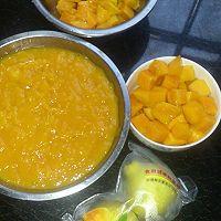 芒果冻芝士蛋糕8寸#东菱魔法云面包机#的做法图解3