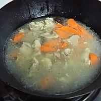 暖冬羊肉汤#大喜大牛肉粉试用#的做法图解5