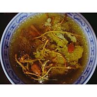 虫草花枸杞肉饼汤