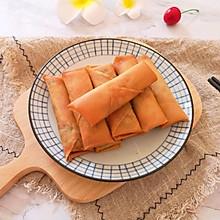 茴香大肉馅春卷#憋在家里吃什么#