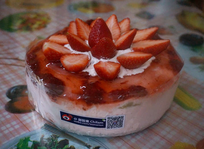 草莓慕斯蛋糕的做法 草莓慕斯蛋糕怎么做好吃 郑智乐Chilam 家常做法