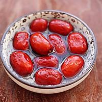 #花10分钟,做一道菜!#黄豆花生红枣糯米糊的做法图解5